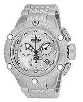 Invicta Subaqua Noma VIクオーツクロノグラフメンズ50mmステンレススチールブレスレット腕時計(26647)