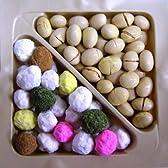 《季節限定品/節分》 紙桝入(大) 節分豆・五色豆詰合せ 190g