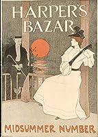 歴史的なポスター Harper's Bazar 夏の数字 アンティークヴィンテージ ファインアートプリント 30in x 44in 4050967_3044