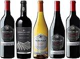 【Amazon.co.jp限定】 銘醸地カリフォルニアから直輸入 ベリンジャーが厳選したぶどうから造ったコク旨ワイン5本セット