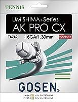 GOSEN(ゴーセン) ウミシマ AK プロ CX 16 UMISHIMA AK PRO CX 16 TS760NA 1805 【メンズ】【レディース】 NA.ナチュラル -