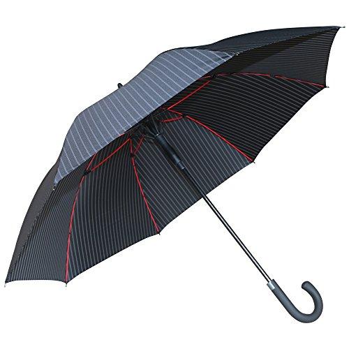 最新改良 傘 長傘 メンズ レディース 紳士傘 ゴルフ用長傘...