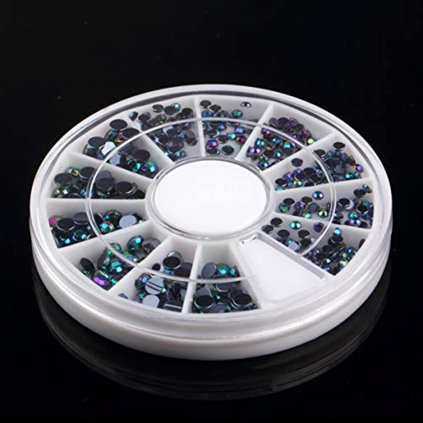 自分のためにいう目的Birdlantern 300ピース3d宝石クリスタルネイルアートステッカーのヒントクリスタルグリッターラインストーンdiyの装飾マニキュア+ホイールターンテーブル