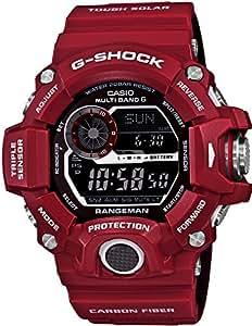 [カシオ]CASIO 腕時計 G-SHOCK MEN IN RESCUE RED RANGEMAN GW-9400RDJ-4JF メンズ