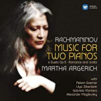Rachmaninov: Music for Two Pianos (2 CD) by Martha Argerich