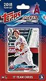 大谷翔平 カード入り 2018 エンゼルス メジャーリーグ チーム カード 17枚セット TOPPS Los Angeles Angels MLB TEAM CARD SET ルーキーイヤー