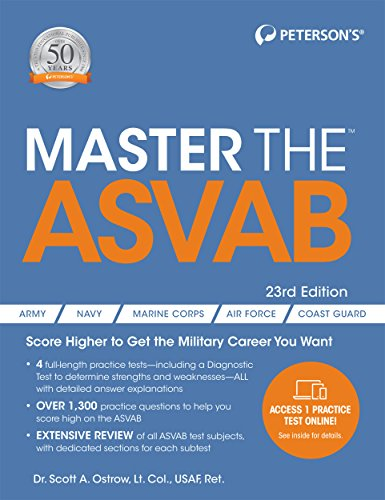 Download Master the ASVAB (Master the Asvab (Book Only)) 0768942411