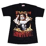 海外製品 EMINEM エミネム SURVIVAL プリント 半袖 tシャツ M L XL [T620] ダンス 衣装 ヒップホップ tシャツ