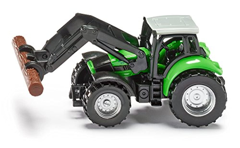 ジク (SIKU) DEUTZ-FAHR トラクター木材運搬アーム付き SK1380