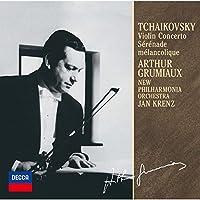 チャイコフスキー:ヴァイオリン協奏曲、憂鬱なセレナード