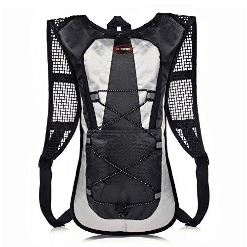 Vanly ランニング バッグ 通気 超軽量 防水 光反射 5L ランキング 登山 サイクリングバッグ ジョギング ハイキングリュック 4色選択 男女兼用
