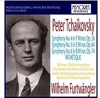 フルトヴェングラー指揮 チャイコフスキー:交響曲第4.5.6番