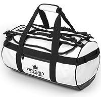 北欧発 「The Friendly Swede」 ダッフルバッグ ボストンバッグ スポーツバッグ 旅行バッグ アウトドアバッグ トラベルバッグ 3way 大容量 30L/ 60L/ 90L