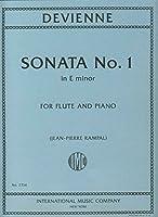 Partitions classique IMC DEVIENNE F. - SONATA E MINOR OP. 58 - FLUTE ET PIANO Flûte traversière