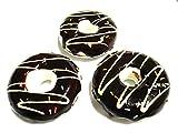 startside (スタートサイド) 食品 サンプル 詰め合わせ お菓子 おかし ケーキ ドーナツ セット (ドーナツ 3個 セット(ブラウン))