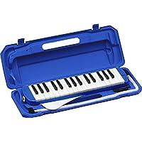 KC 鍵盤ハーモニカ  ブルー 32鍵 P3001-32K/BL ドレミ表記シール・クロス付き