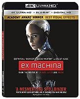 Ex Machina (エクス・マキナ) [4K Ultra HD + Blu-ray + Digital HD](Import)