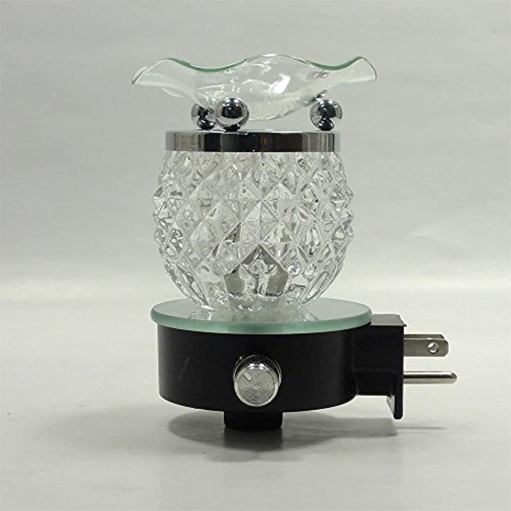 同志行商王室Electric Oil Warmer Burner Tart Diffuserアロマ香りつきFragrance Essential Oils壁プラグinランプ