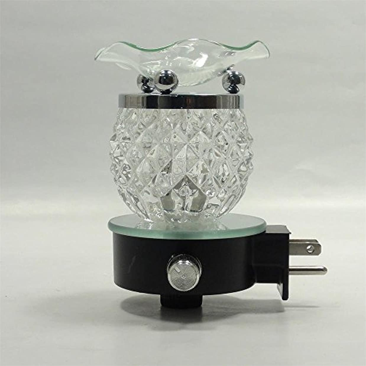 悪意蒸留砂のElectric Oil Warmer Burner Tart Diffuserアロマ香りつきFragrance Essential Oils壁プラグinランプ