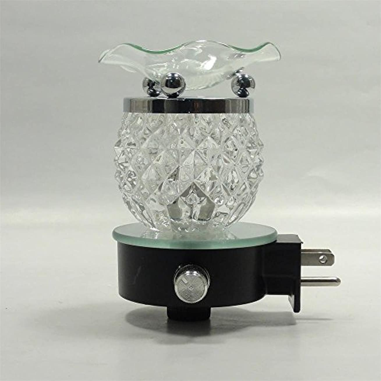 Electric Oil Warmer Burner Tart Diffuserアロマ香りつきFragrance Essential Oils壁プラグinランプ