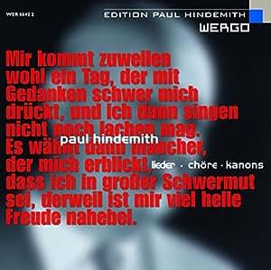 Hindemith: Lieder/Chore/Kanons