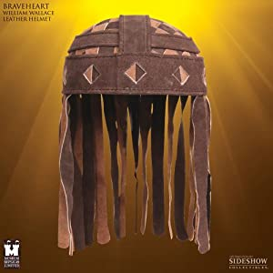 Braveheart - Prop Replica: William Wallace Leather Helmet