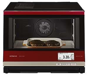 日立 スチームオーブンレンジ 2段調理 33L ヘルシーシェフ メタリックレッド MRO-SV3000 R