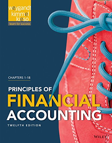 Download Principles of Financial Accounting 12e + WileyPLUS Registration Card 1119151376