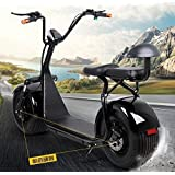 Electric Harley Scooter 60V 1500W (black) [並行輸入品]