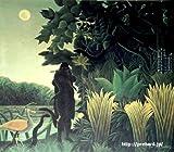 ルソー 「蛇使いの女」原画同縮尺近似(25号) rousseau-03-06