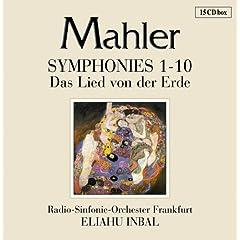 インバル指揮 マーラー交響曲全集の商品写真