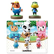 Animal Crossing Series 3-Pack Amiibo (Animal Crossing Series) - Mr. Resetti - Kapp'n Amiibo Bundle for Nintendo Switch - 3DS - Wii U (Bulk Packaging)