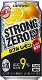 サントリー-196℃ ストロングゼロ ダブルレモン [ チューハイ 350ml×24缶 ]