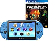 PlayStation Vita Wi-Fiモデル アクア・ブルー (PCH-2000ZA23) + Minecraft: PlayStation Vita Edition