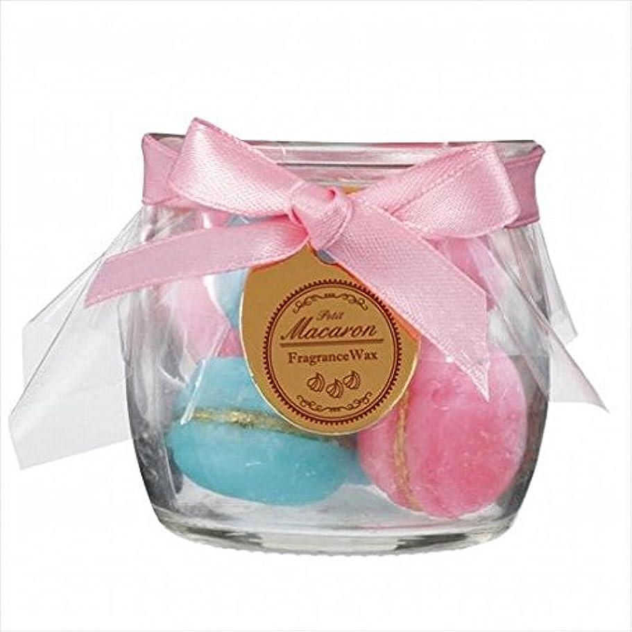 石鹸モネバレルsweets candle(スイーツキャンドル) プチマカロンフレグランス 「 ピーチ 」 キャンドル 60x60x56mm (A3160540)