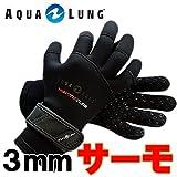 アクアラング 3MMサーモグローブ 【ダイビング グローブ】*/XL