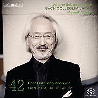 バッハ:カンタータ全集 Vol.42 (J. S. Bach: Cantatas, Vol.42) [Hybrid SACD]