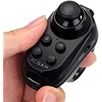 ACGAM R1 Bluetooth 4.0 スマホリモコン ゲームパッド ワイヤレス VRリモコン コントローラー 無線 IOS/Androidスマホ、タブレット対応