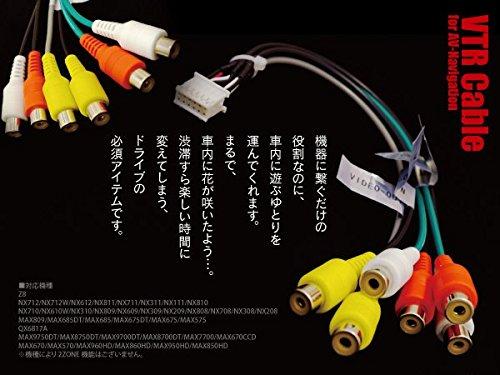 クラリオン/アゼスト AVナビ用VTRケーブル CCA-657-500 互換品 MAX7700