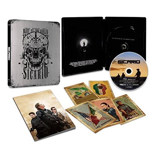 【Amazon.co.jp限定】ボーダーライン スチールブック仕様・日本オリジナルデザイン(オリジナルクリアステッカー付き) [Blu-ray]