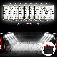 Favoto led モジュール ルームランプ 4 * 8LED 12v 照明ON/OFFスイッチ付き IP67防水 省エネルギー 天井ライト広告サインボード・車などに対応 2本セット