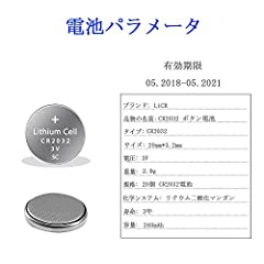 LiCB 20個 CR2032 ボタン電池 3v 2032 リチウムコイン電池