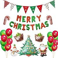 クリスマス 風船 飾り付け MERRY CHRISTMAS バルーン バルーン クリスマス 風船 飾り付けパーティーふうせん 25アクセサリー