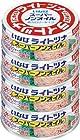 24時まで【タイムセール祭】いなば ライトツナスーパーノンオイル 4缶Pが497円!
