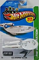 2013 Hot Wheels Hw Imagination - Star Trek - U.S.S. Enterprise NCC-1701 [Battle Damaged Version]