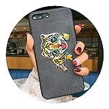 適用 iPhoneX韓国語刺繍携帯電話ケース,リトル太った虎,適用 iPhone6 / 6Sもっと見る