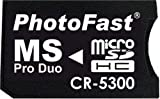 PhotoFast microSD to MS Pro Duo変換アダプターブリスターパッケージ・microSDHC8GB対応・1ヶ月保証 CR-5300