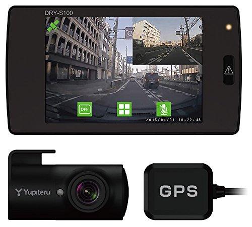 ユピテル GPS・Gセンサー搭載 前後録画対応 ドライブレコー...