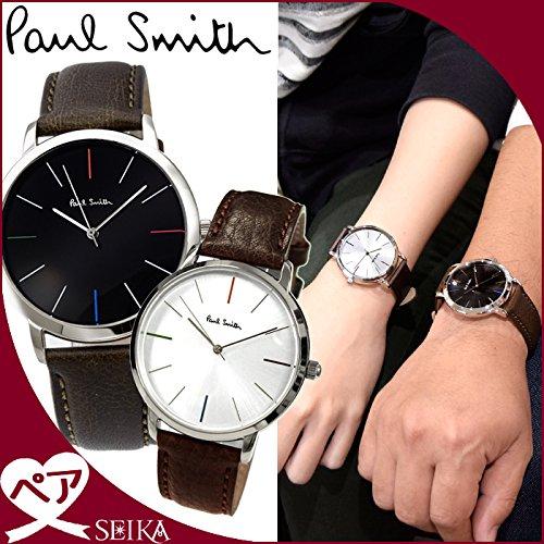 (ペア価格)ポールスミス/PAUL SMITH ペアウォッチ 【P10052/メンズ】【P10100/レディース】 時計 メンズ レディース [並行輸入品]