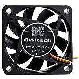 オウルテック PCケース用オリジナルファン CPUファン 6cm 15mm厚 超静音 3000rpm 1年間新品保証
